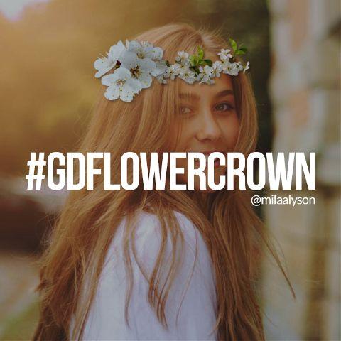 flower crown graphic design contest