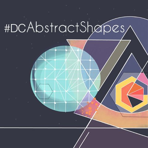 Abstract Shapes drawing contest