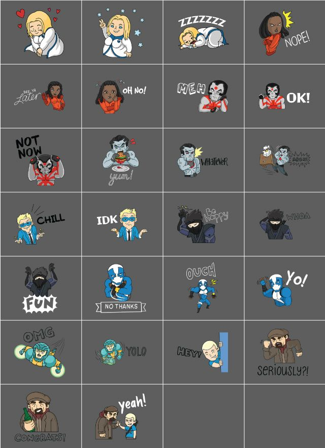 Valiant Comics Combo Pack clipart