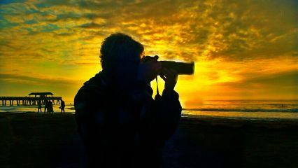 photography sunrise beach colorful