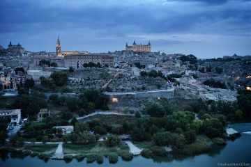 toledo spain landscape photography nightphotography