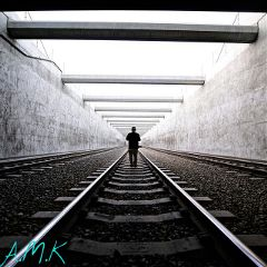 blackandwhite effects railway photography