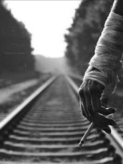 deeliriouss photography railway blackandwhite emotions