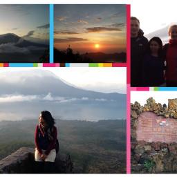 travel bali mountain holiday sunrise