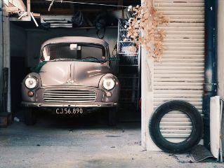 car cars garage house interior