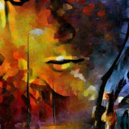 artisticselfie artistic art colorful painting