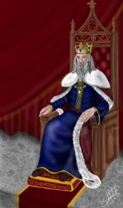 dcthrone draw drawing colorful king