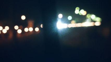 sleepless night earlymorning blurred bokeh