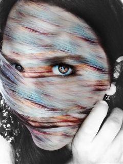 edited colorsplash emotions people colorful