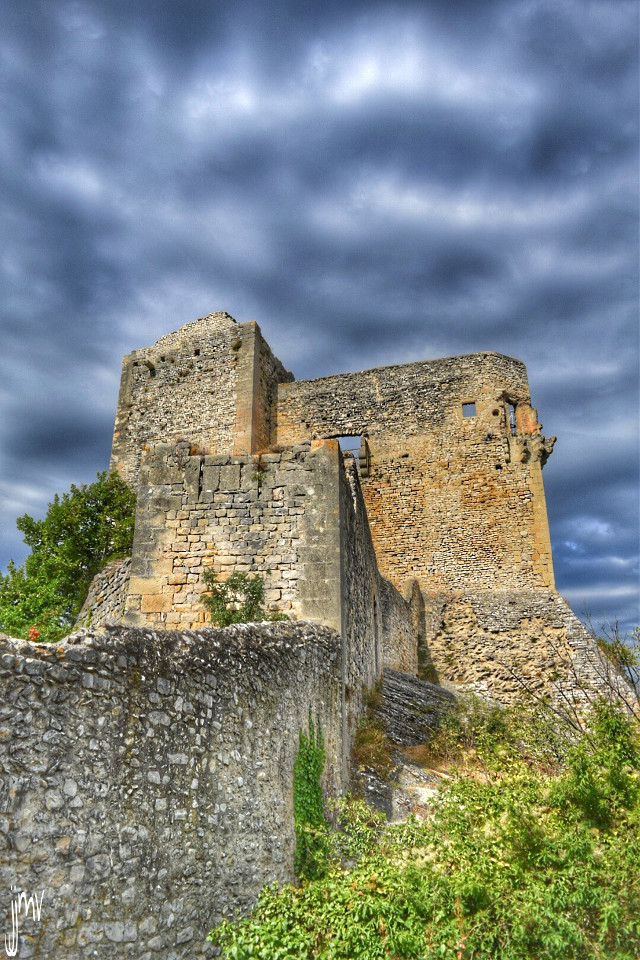 Good day my friends and picsartists Vaison la romaine castle  #photography #hdr #colorful #summer