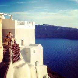 greece santorini travel beautiful summerstory