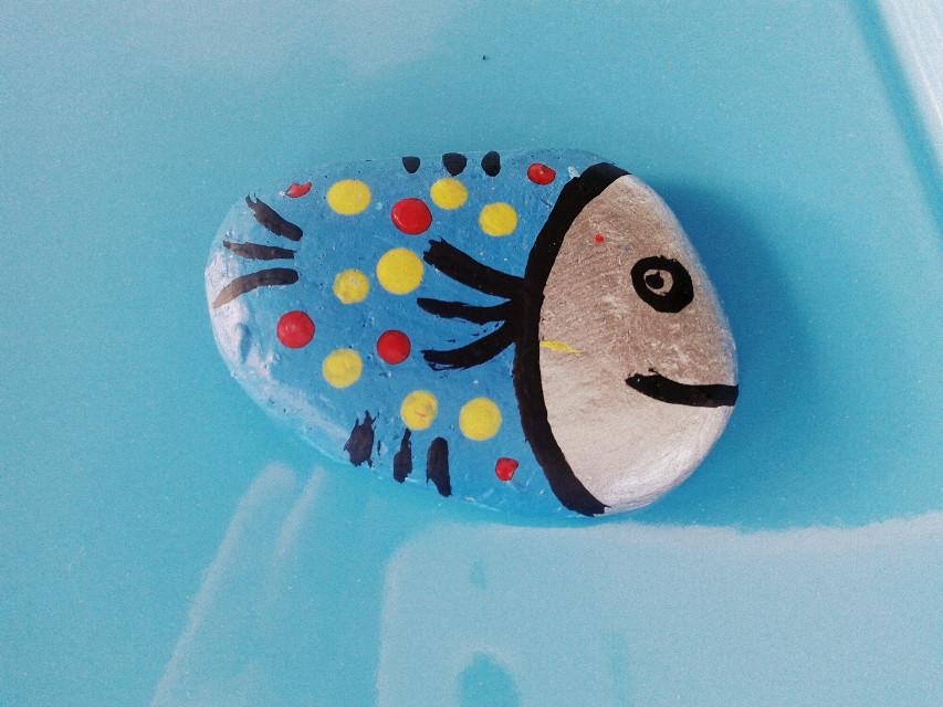 #fish #summer #cute #sea #geometry