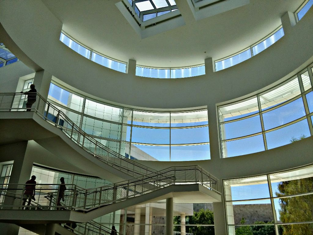 #Getty Center.   Re-edit for #geometry