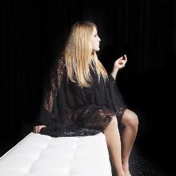 body passion face boudoir portrait