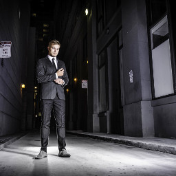 street photography fashion personal project onlocation shoot outdoors colorful getup ootd SanFrancisco financial district StreetPulseSF SOMA suitandtie night