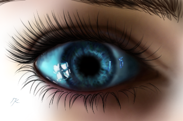 drawing digitaldrawing eye digitalpainting