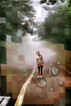 road people motion artistic photography
