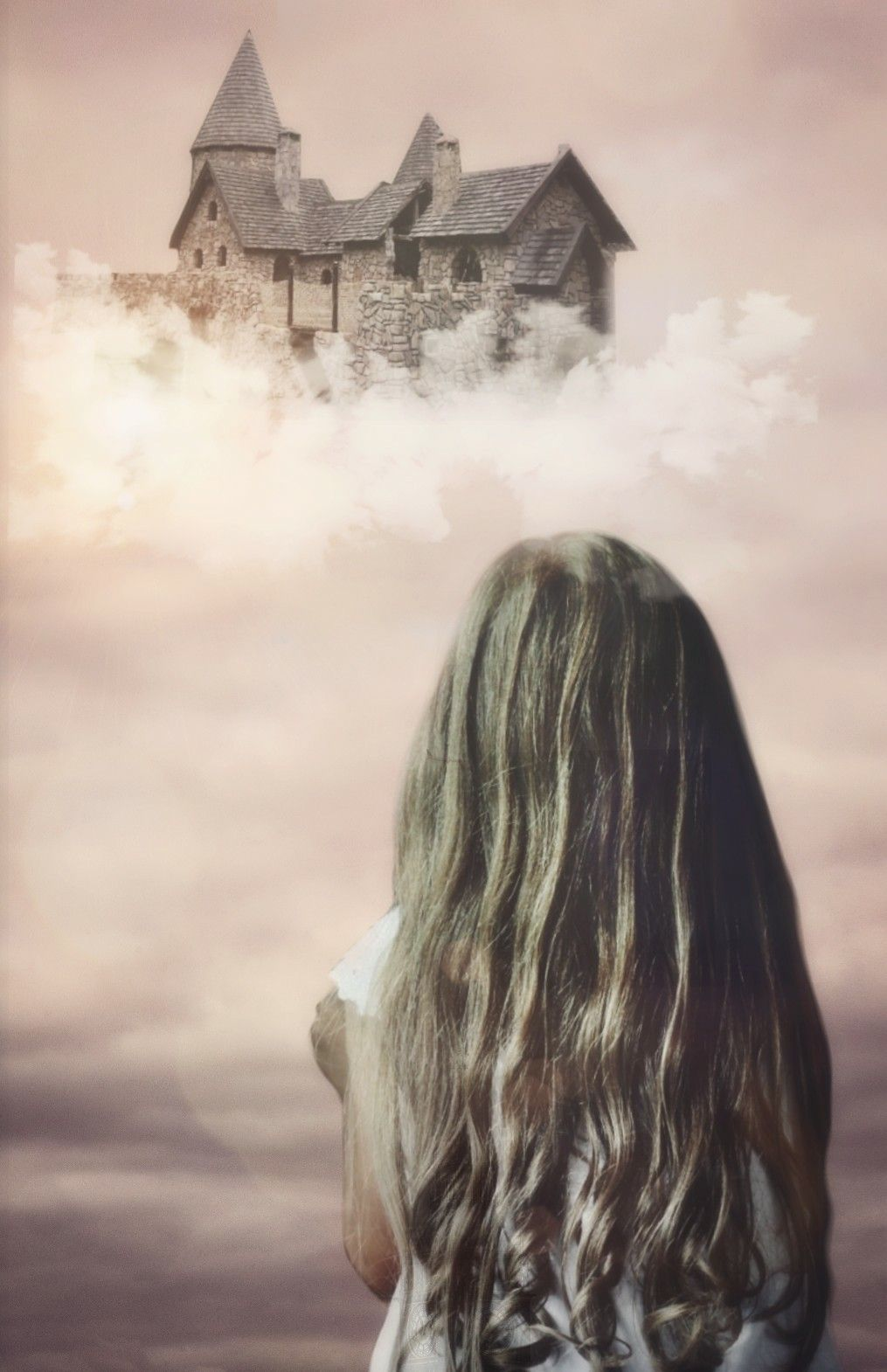 Forever building castles in the sky   I used girl from @alptipstextures  My own photos  Cliparts and lensflares  #edited #fantasy