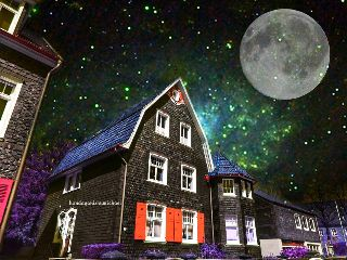 colorcombo moon urban night colorful