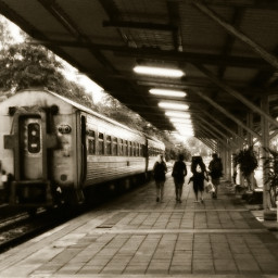 trainstation travel backpackers