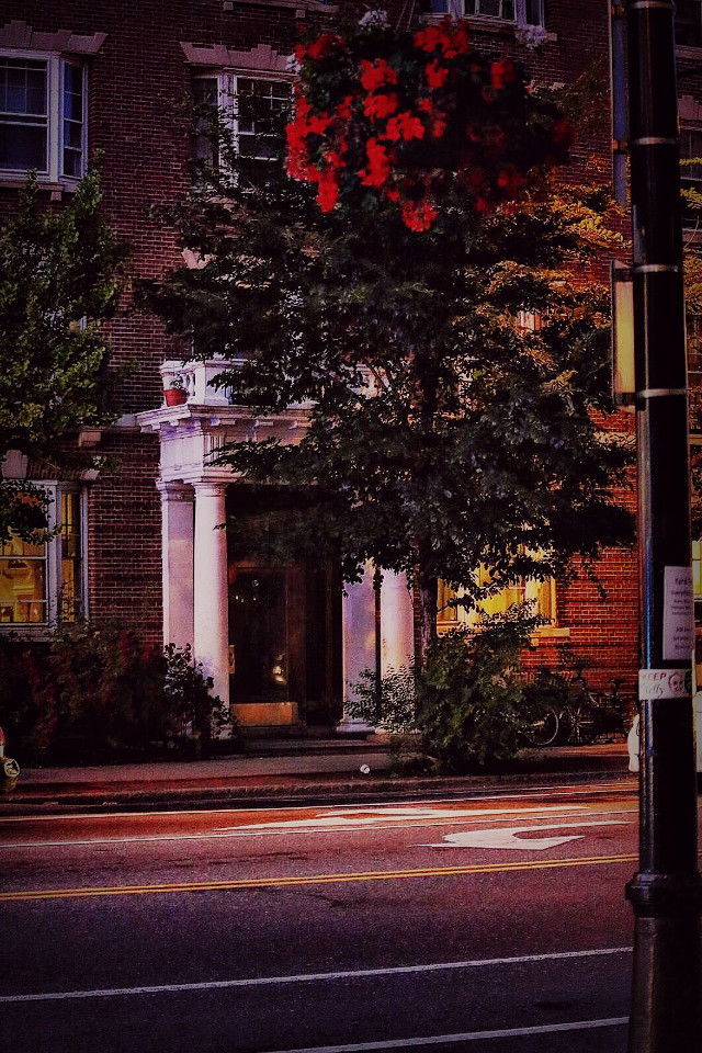 #night  #summernight  #hdr  #boston  #streetphotography  #evening