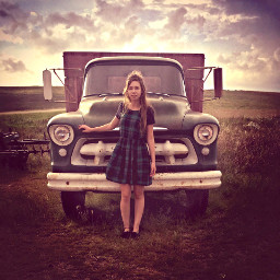 truck beautiful country flannel interesting