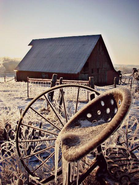 #winter   #snow #ice #Barn #country #farm #photography #eyecapture