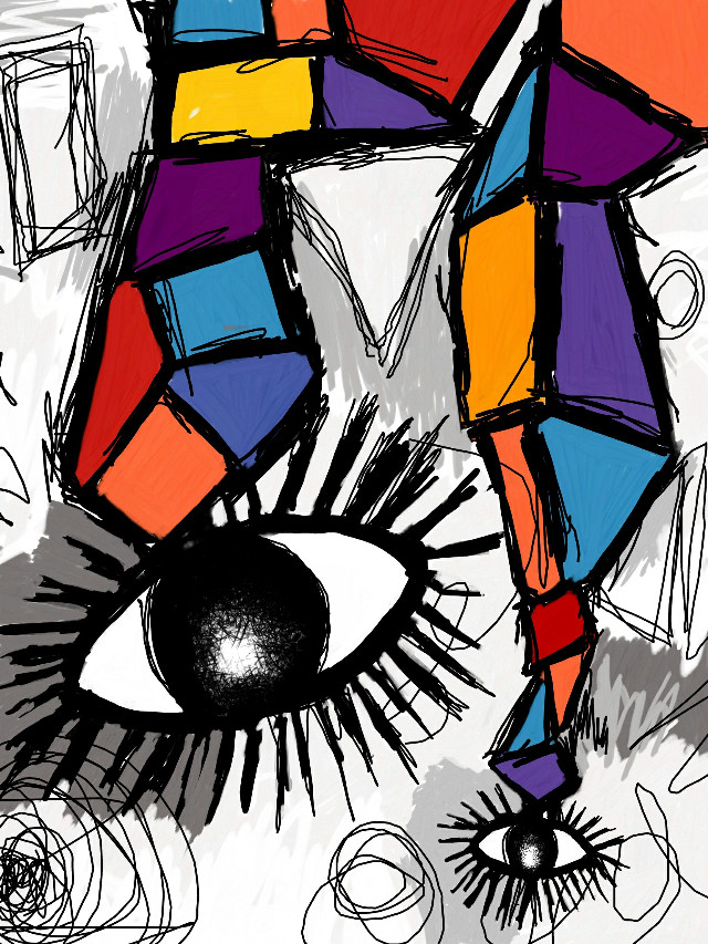 #drawing #art #handdrawn #fingerpaint #abstract