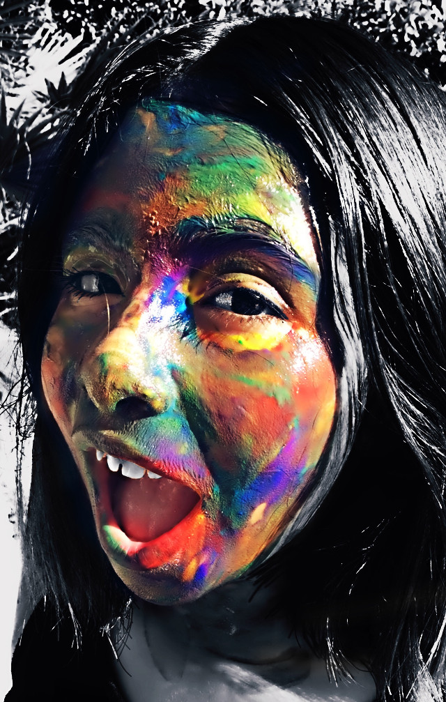 #Saturated  # colorsplash  #colorful  #blackandwhite  #art  #photography  #california  #colors  #creative  edited to my Daugther  @kamilacornejo  I love you babe....❤️te Amo corazon... #colorswap #hair