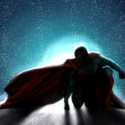 dcsilhouette digitaldrawing drawing art superman