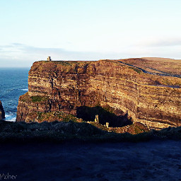 cliffs cliffsofmoher ocean nature ireland