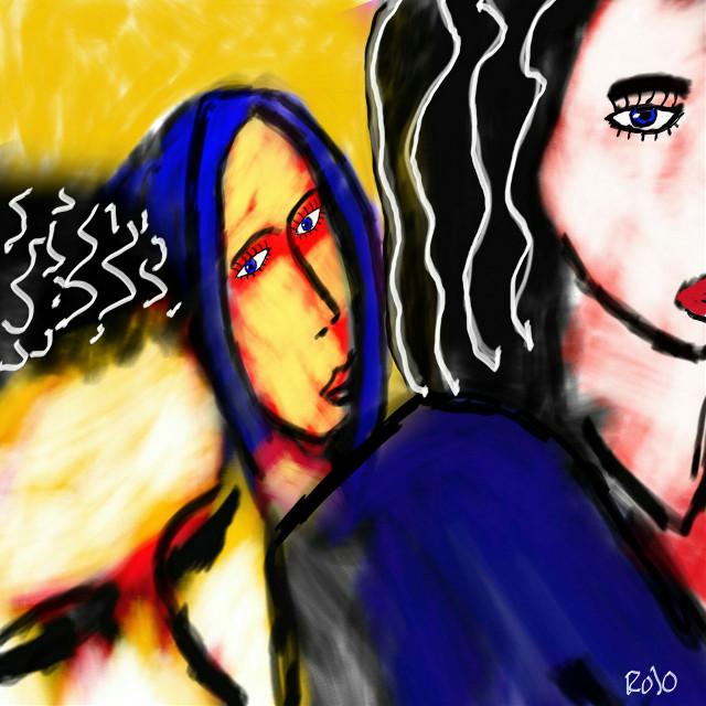 People  #PicsArt #drawing #art #colourful #rojo #artforpeace #freedoom #artforfreedom