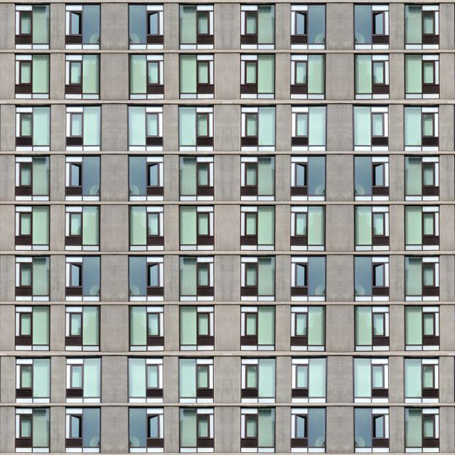 symmetrical shapes in architechural photography